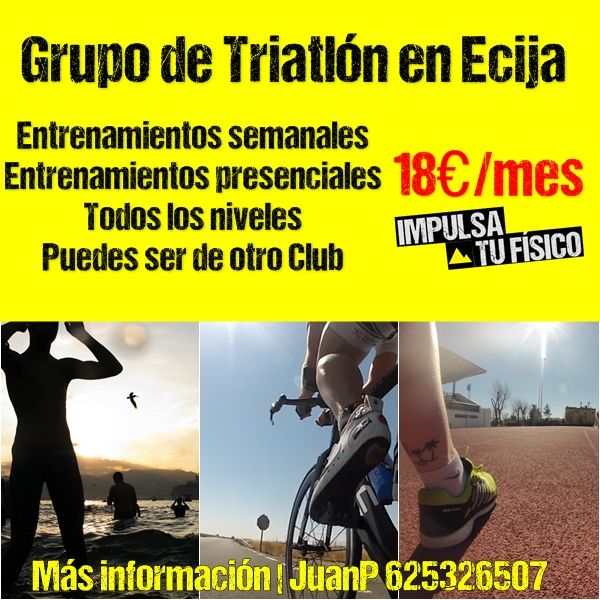 Grupo de Entrenamiento de Triatlón en Ecija